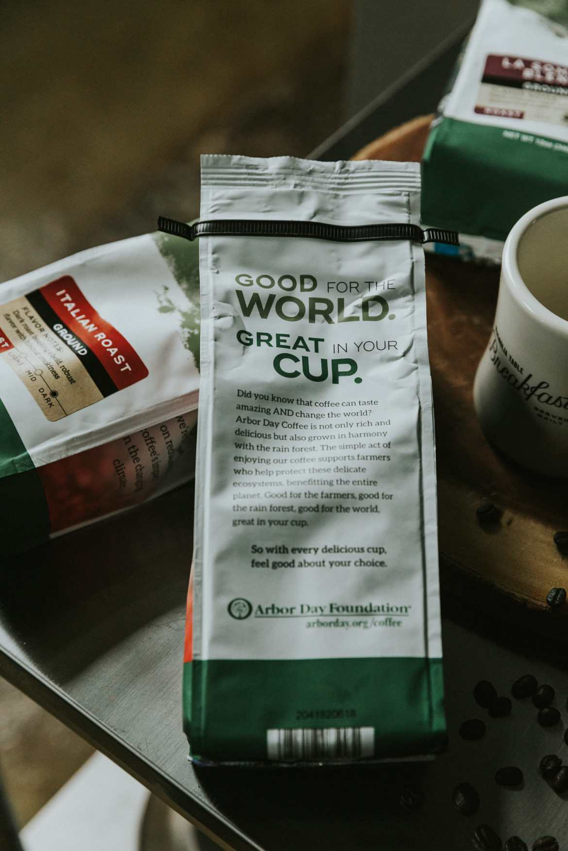 arbor day foundation coffee