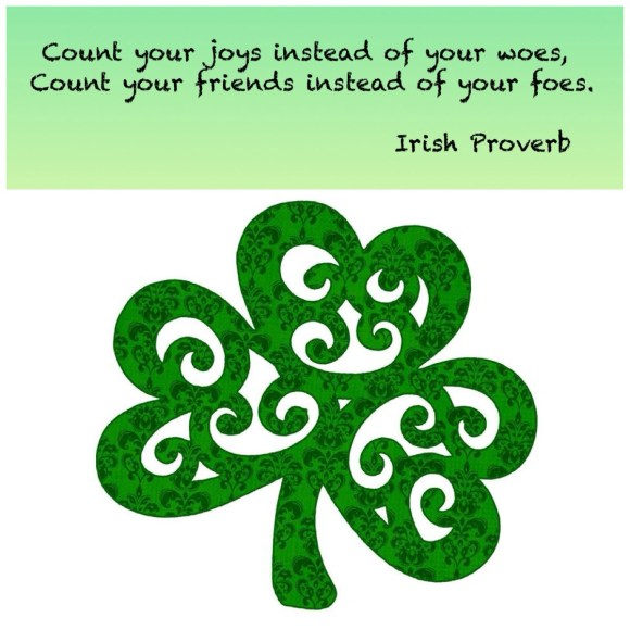 A little reminder never hurt any of us!  Happy St. Paddy's day, ya'll!