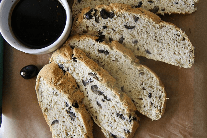 Rosemary Olive Low Carb Bread