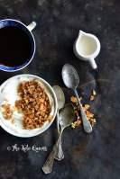 Breakfast Spread of Cinnamon Toast Crunch Low Carb Homemade Granola Recipe