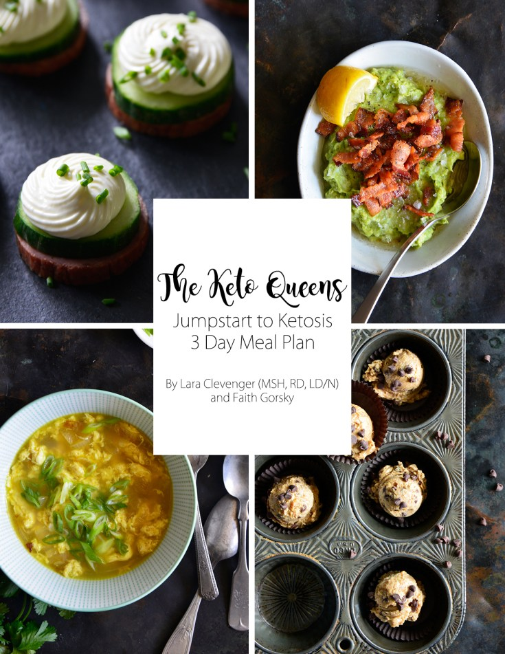 Jumpstart to Ketosis 3 Day Meal Plan ebook cover