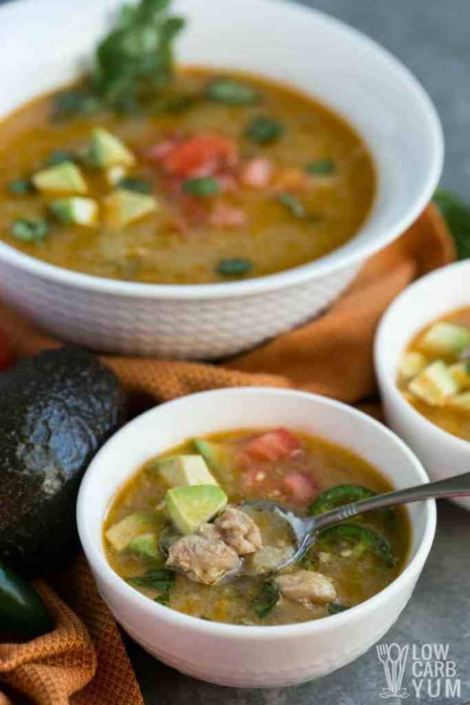 pressure cooker paleo low carb chicken chili