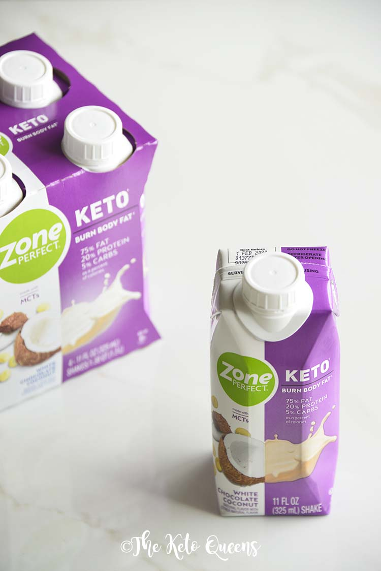 ZonePerfect White Chocolate Coconut in Carton