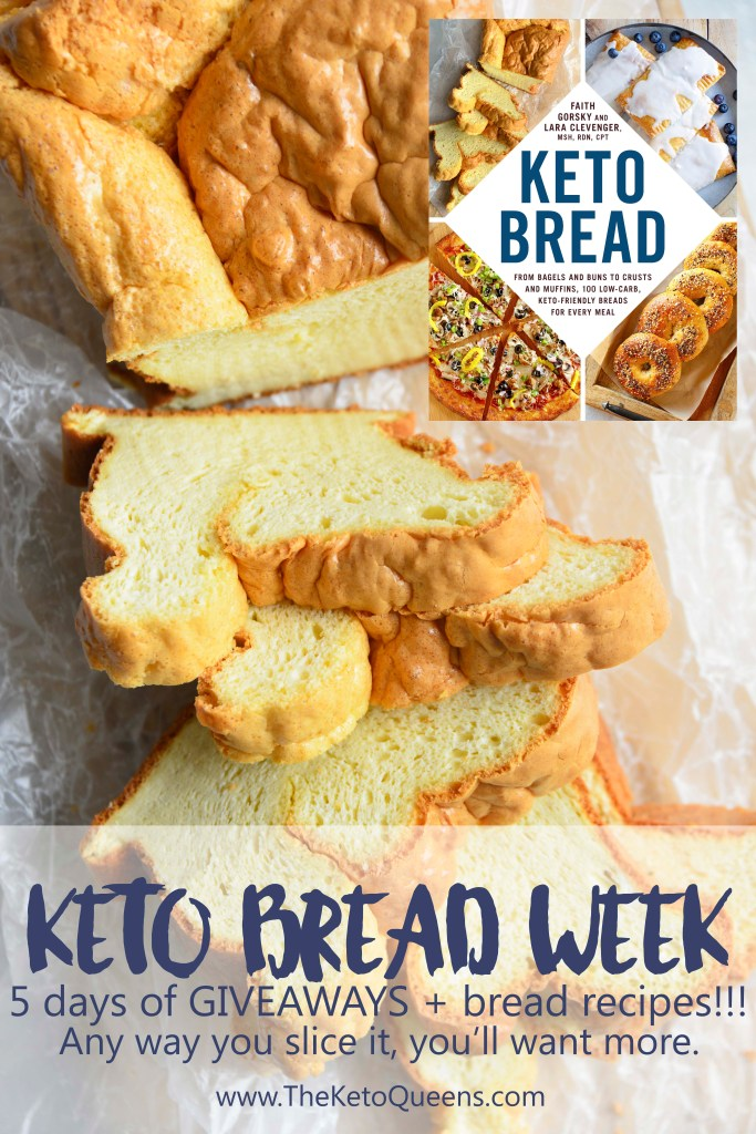 Keto Bread Week Pinable Image