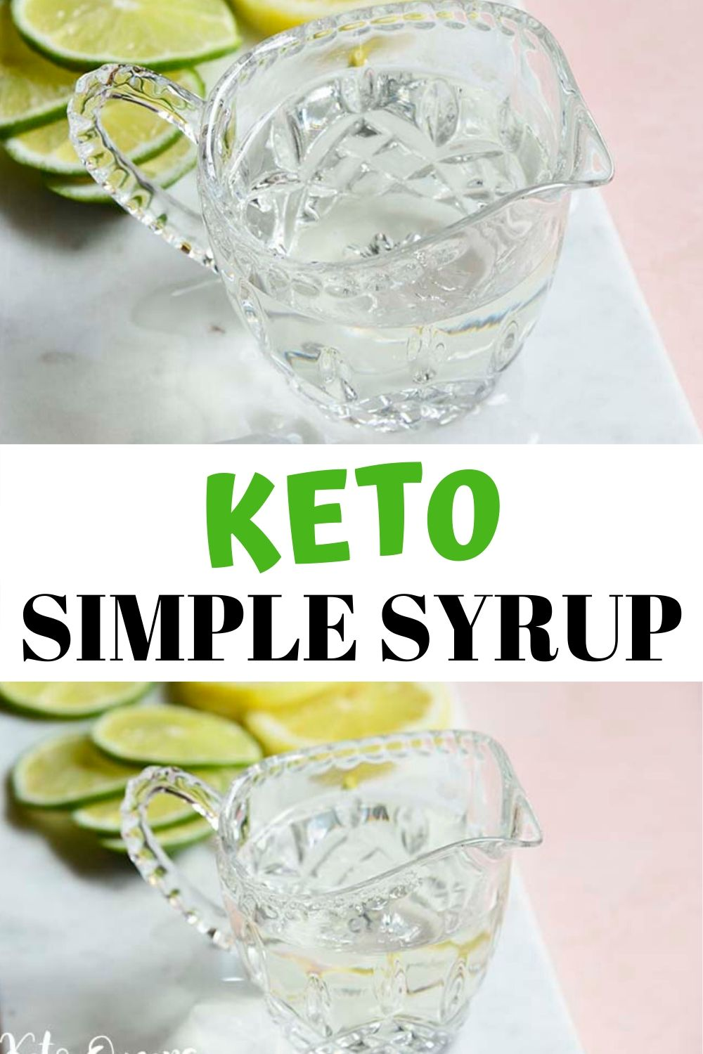 Our keto simple syrup recipe just made low carb cocktails a lot more fun! This sugar free simple syrup tastes great in whiskey sours, old fashions, lemon drops and many more!