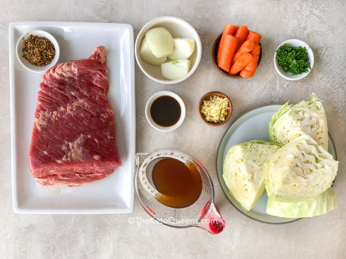 ingredients for instant pot corned beef