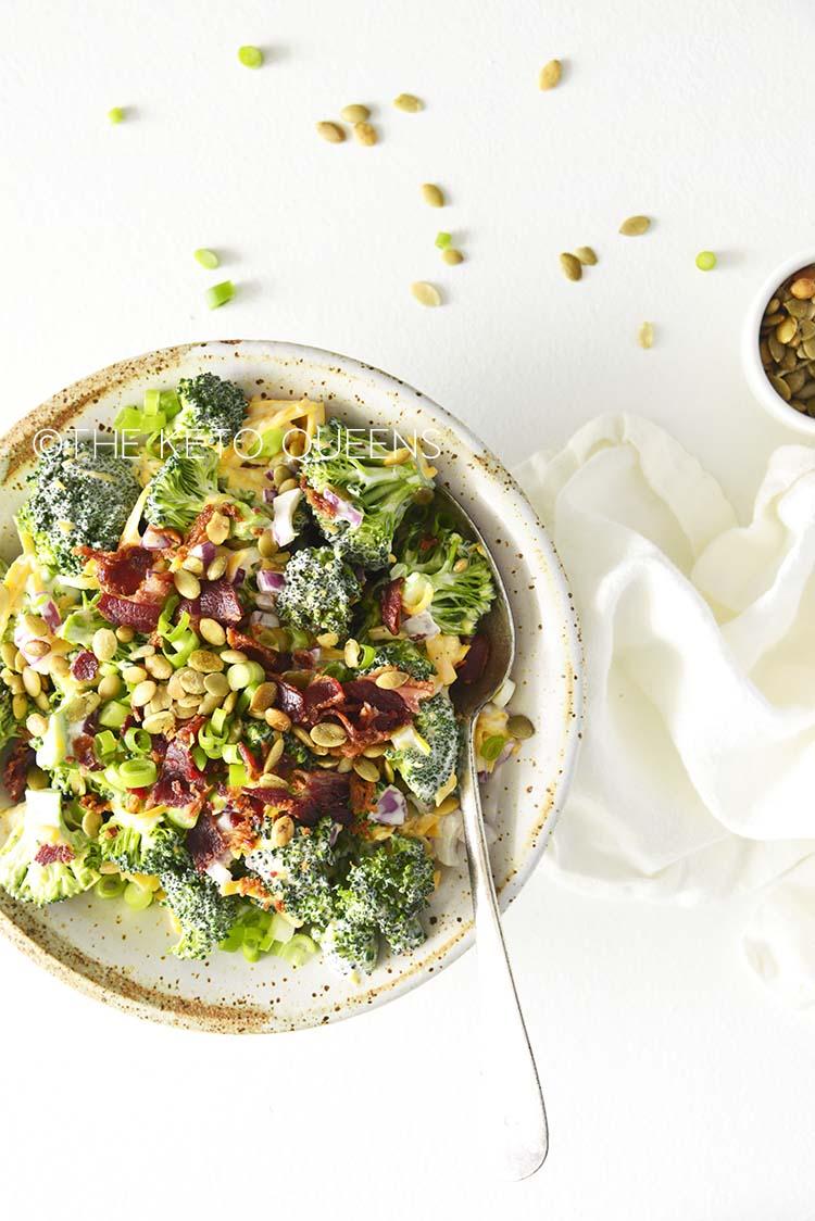 Low Carb Broccoli Salad