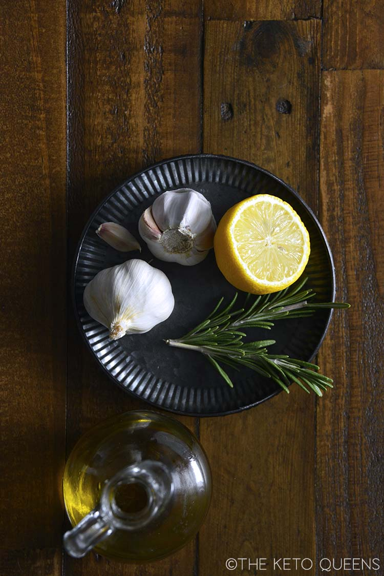 rosemary garlic lemon olive oil