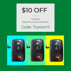 $10 0ff coupon for replacement key services at The Key Crew