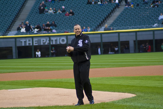 The Key FM Pastor Schaap Throws First Pitch The Key FM