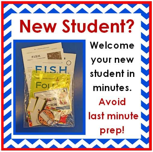 Welcome your new student in minutes and avoid last minute prep with this Back to School teacher hack!