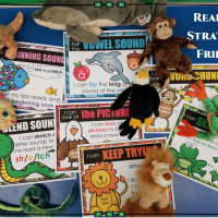 Reading Strategy Goals with Beanie Baby Friends