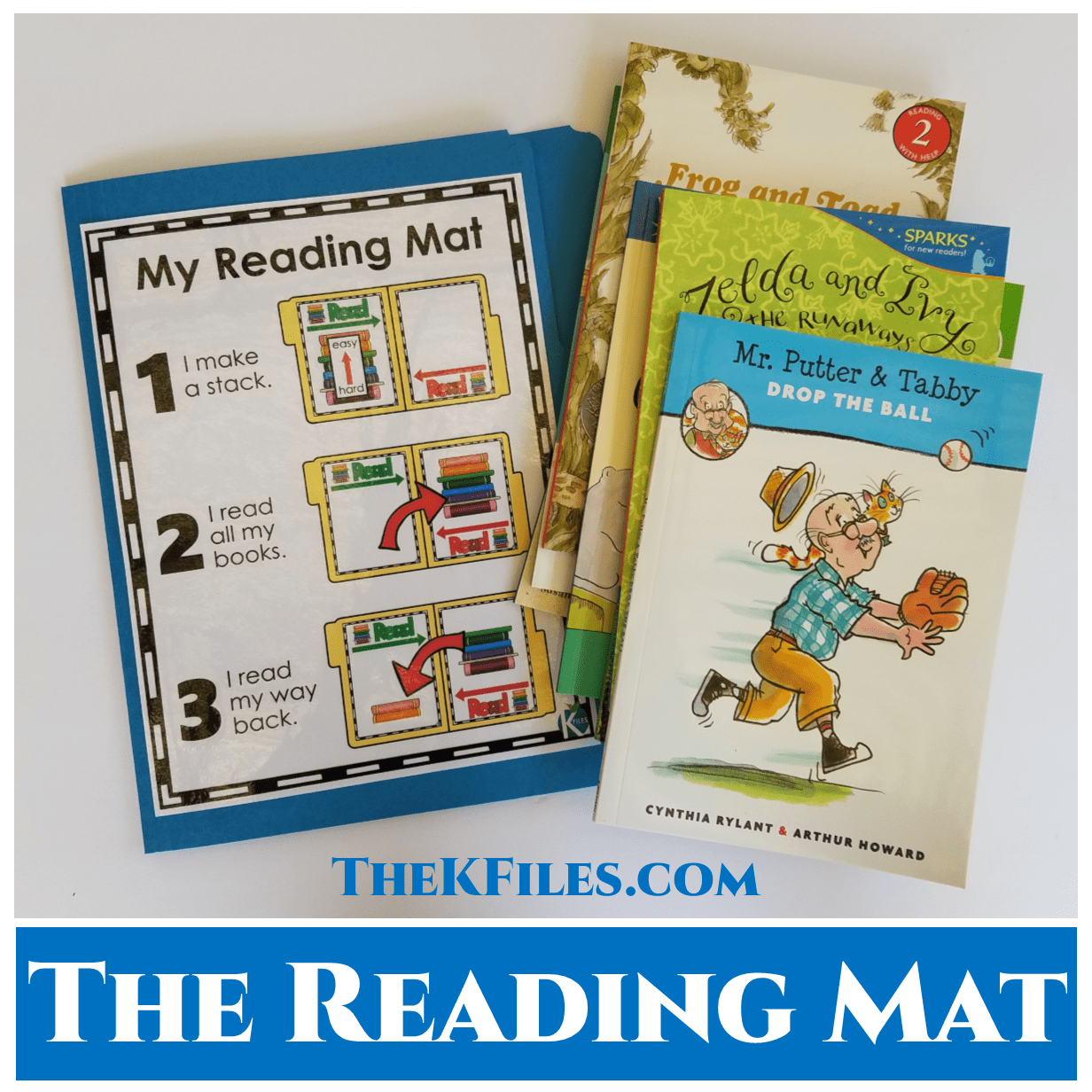 The Reading Mat will provide your students with a visual reminder of how to keep track of what they are reading and build stamina! This system will also encourage your students to reread and build their fluency during Reader's Workshop!