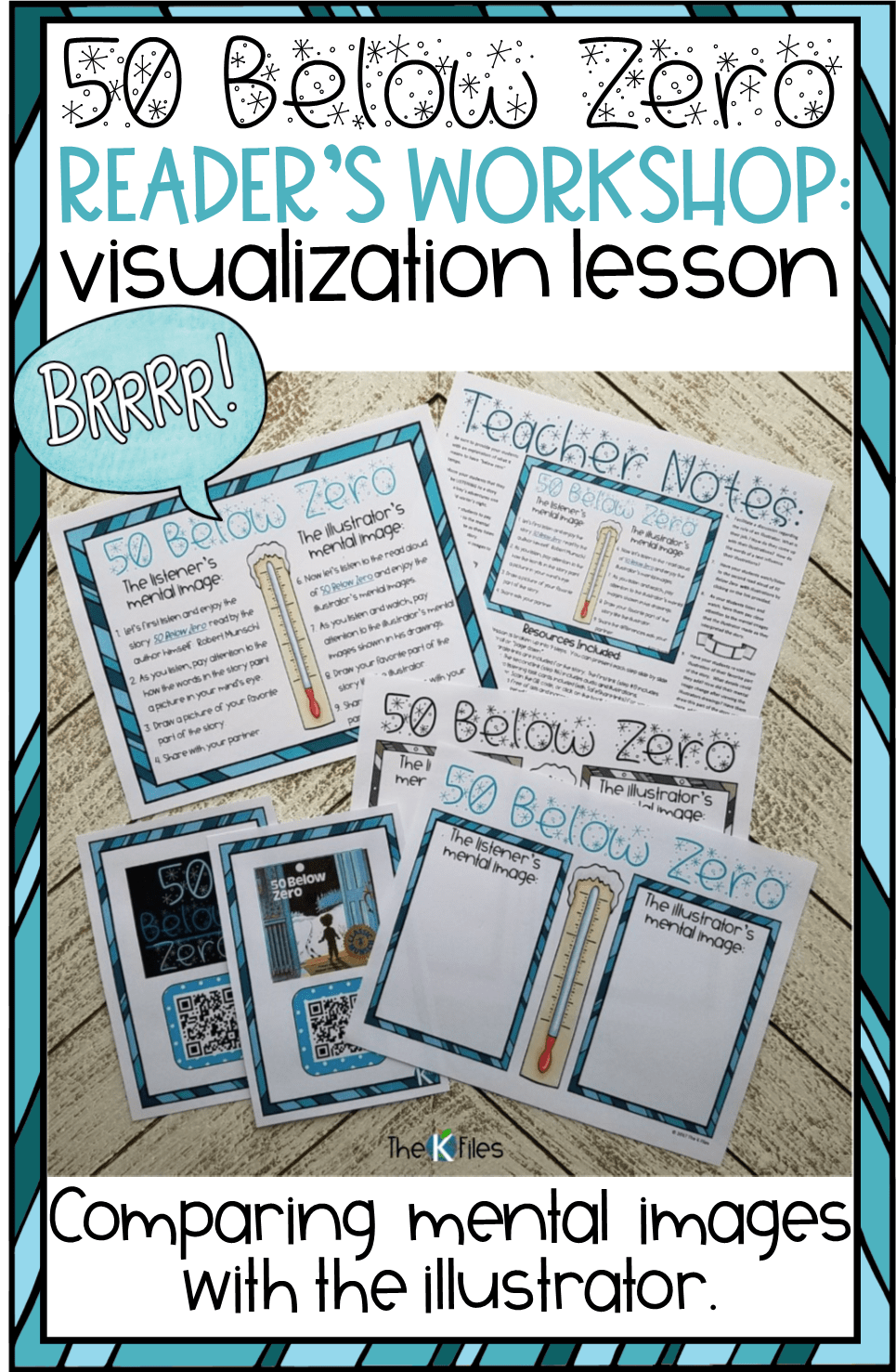 This is a powerful visualization & reading strategy lesson for Reader's Workshop that will encourage your students to create mental images while listening and reading a story. Not to mention that it is a highly engaging read aloud! Visualizing REading Strategy Activity and Worksheet