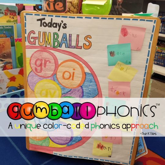 Gumball Phonics™: A Unique Color-coded Phonics Approach