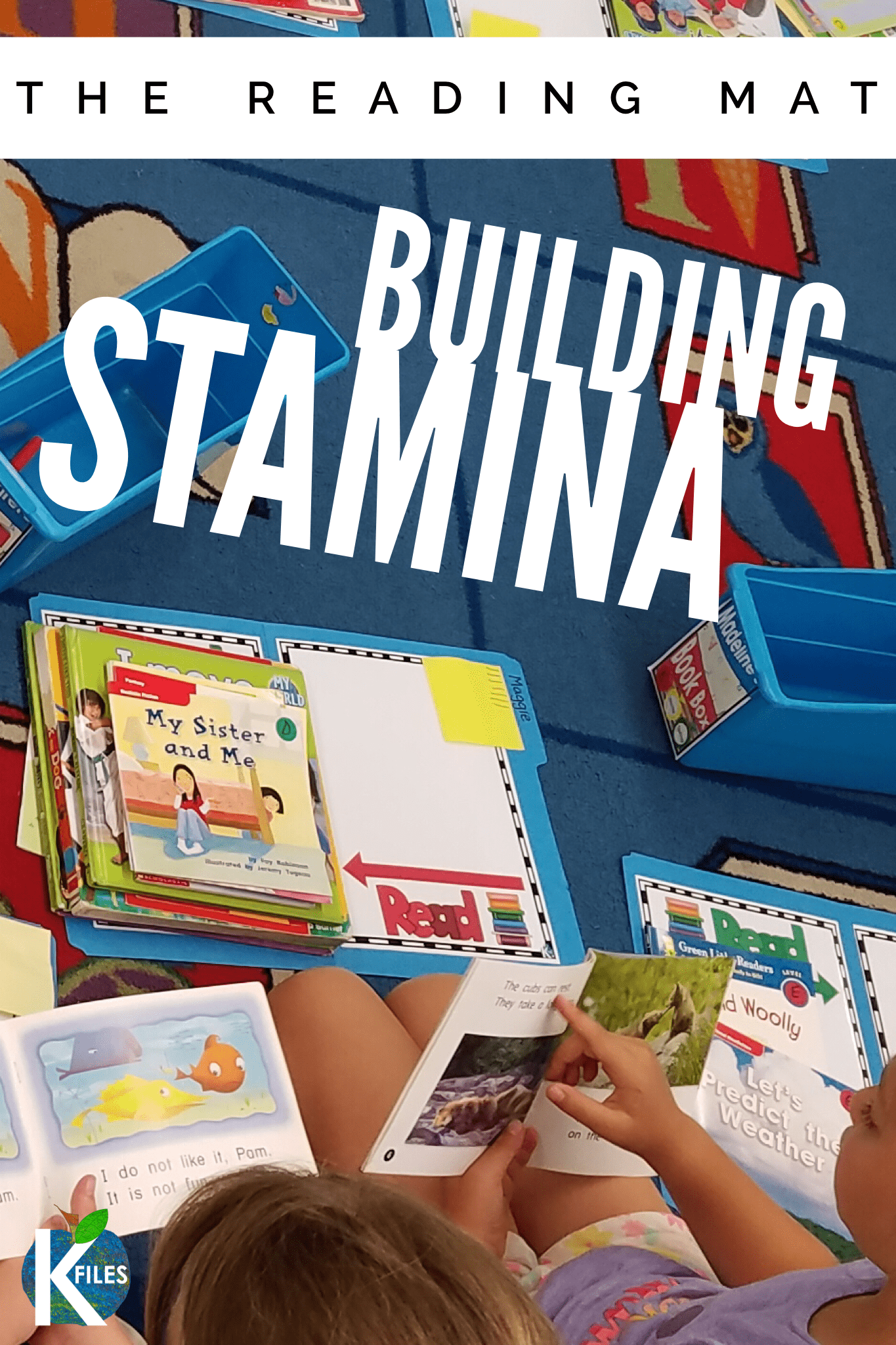 Looking for ways to build your students reading stamina? The Reading Mat will encourage your students to keep reading during your Readers Workshop. This fun Reading Mat folder can be stored in your first grade book boxes all year long. Visual directions included to help your kids stay focused on their reading during Readers Workshop #readersworkshop #firstgrade #readingstamina #readingmat #kindergarten #secondgrade