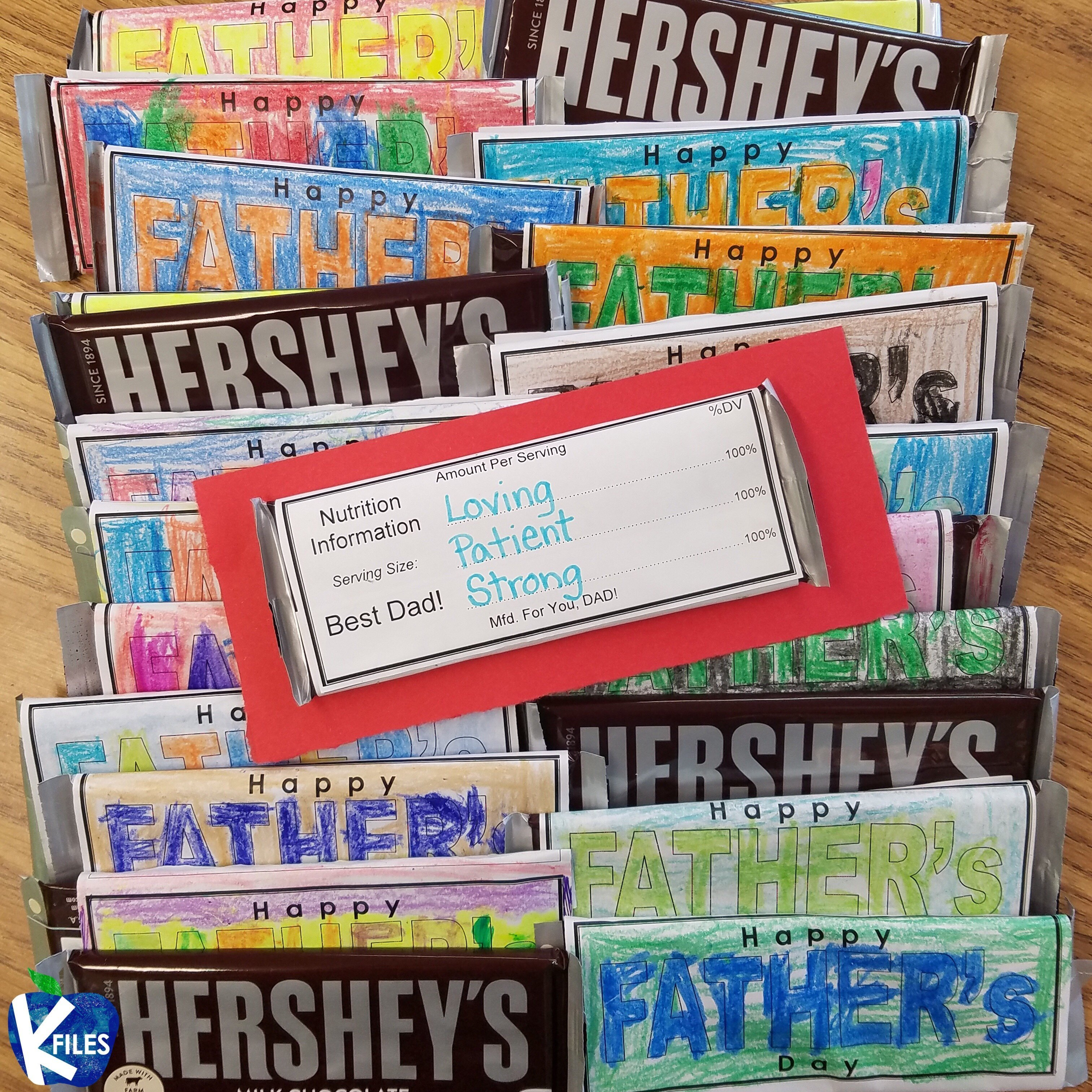 Father's Day Candy Bar Wrapper