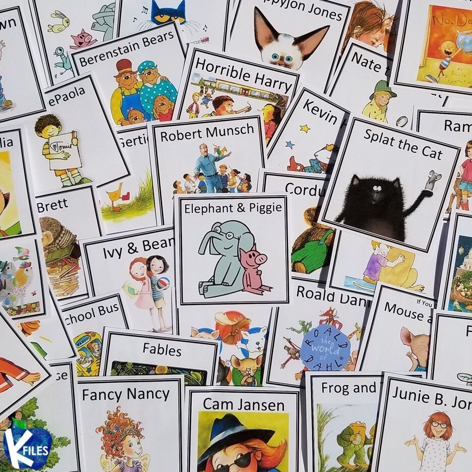 Classroom Library Labels: Freebie!