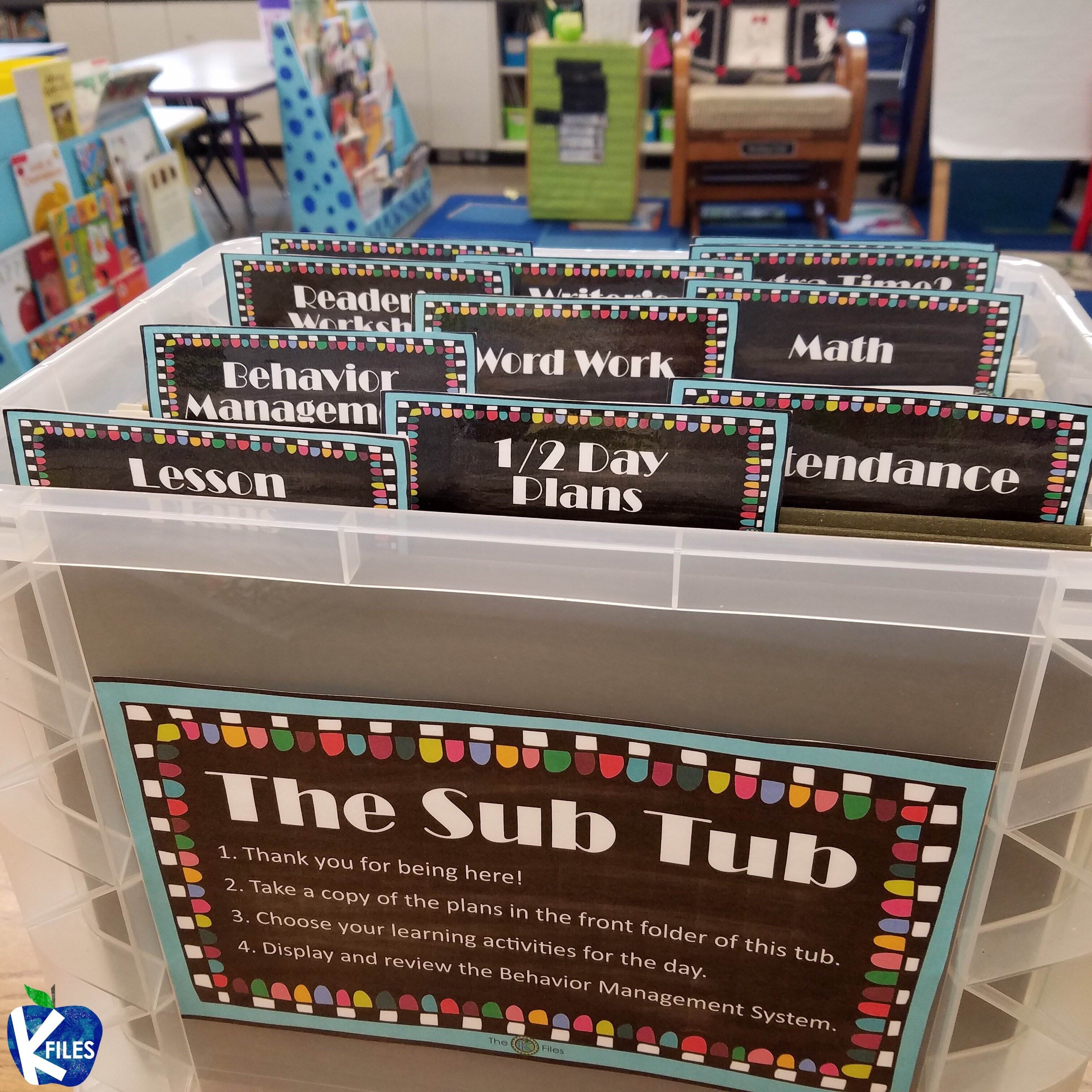 The Sub Tub: A Must Have for Alleviating Stress When Calling in Sick!