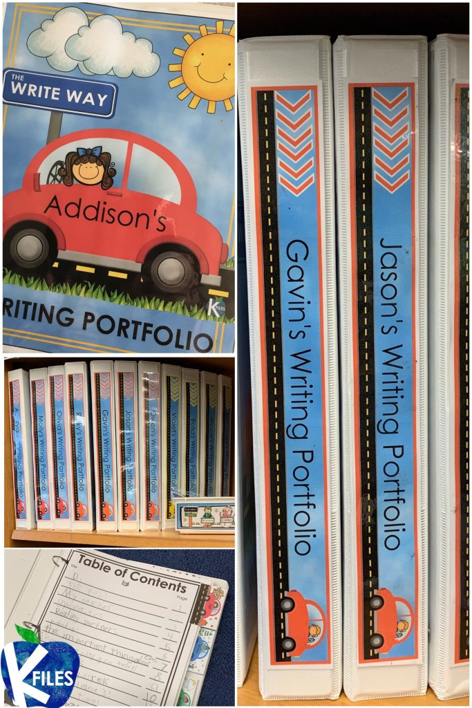 Celebrate your students' writing using these monthly writing portfolios. Your students will proudly showcase their personal narratives and nonfiction writing in these Writing Portfolios. Your students will look forward to adding to their collection during your Writers Workshop. #firstgrade #writersworkshop