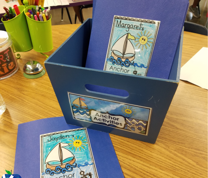 Using Anchor Activities–FREEBIE!