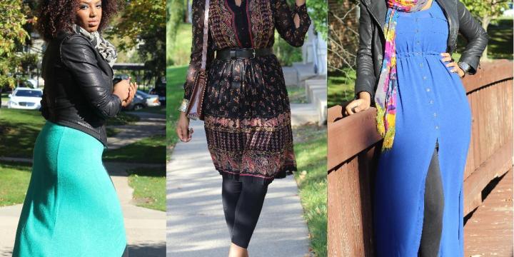 LOOKBOOK: Falling for Dresses
