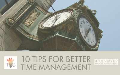 10 Tips for Better Time Management