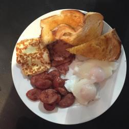 Laz's Poolside Breakfast