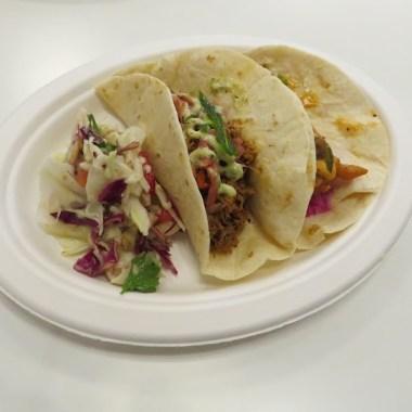 Barramundi and Pulled Pork Tacos