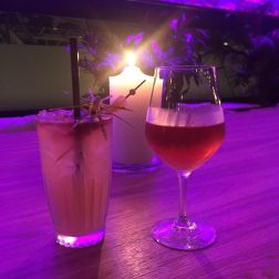 Rosé Wine and Burnt by the Storm