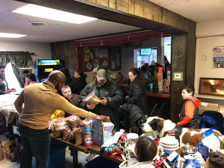 Central New York's only mobile pet food pantry/pet food bank