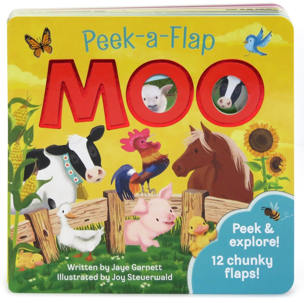 Peak a Flap Moo Book - The Best Books for 1 Year Olds