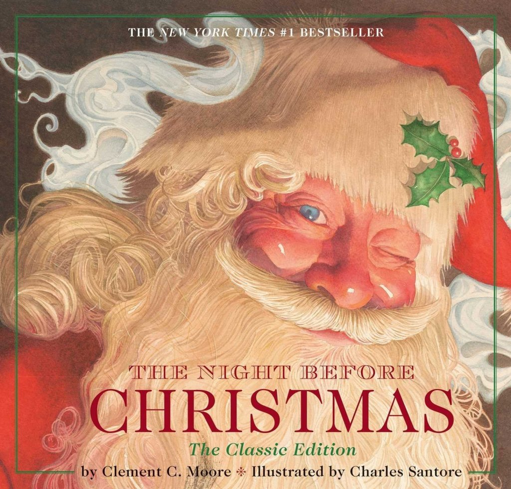 The Night Before Christmas Book - one of the Best Christmas Picture Books