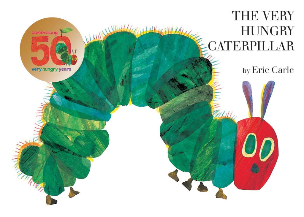 The Very Hungry Caterpillar Book - The Best Books for 1 Year Olds