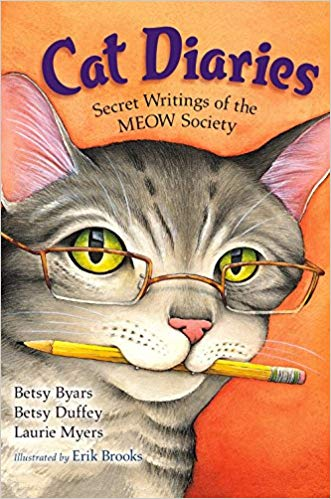 Cat Diaries: Secret Writings of the MEOW Society - Featured on a book list of cat books for kids