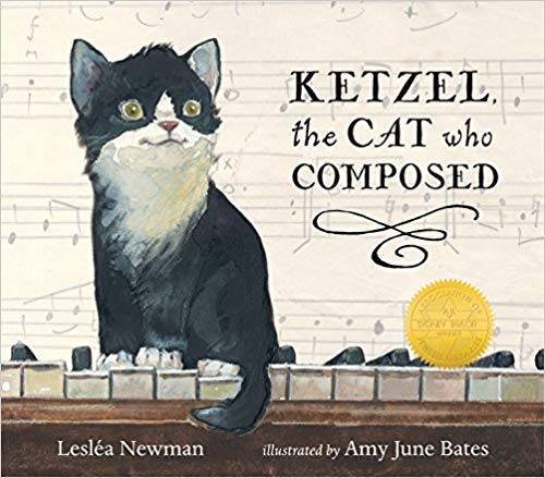 Ketzel, the Cat Who Composed - Featured on a book list of cat books for kids