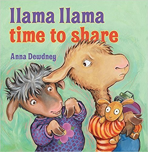 Llama Llama Time to Share  - Children's Books on Manners