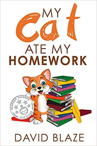 My Cat Ate My Homework - Featured on a book list of cat books for kids