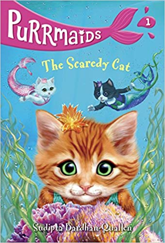 Purrmaids #1: The Scaredy Cat - Featured on a book list of cat books for kids