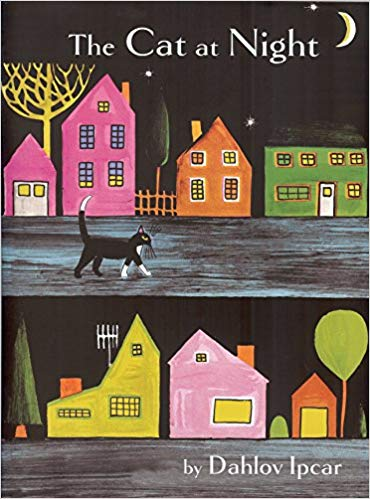 The Cat at Night - Featured on a book list of cat books for kids