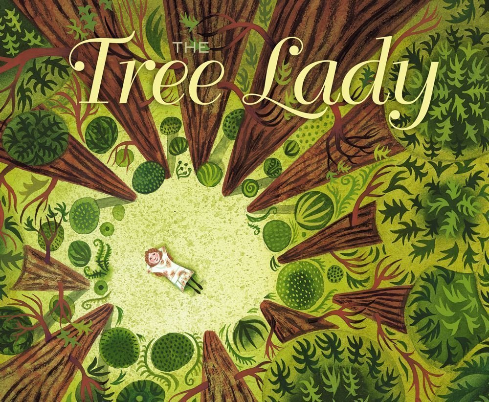 Tree Lady Book - Nature book for preschoolers