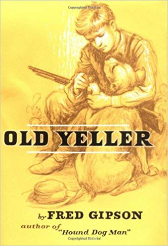 """Old Yeller"" by Fred Gipson - children's books about dogs"