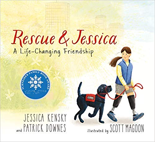 Rescue and Jessica: A Life-Changing Friendship - children's books about dogs