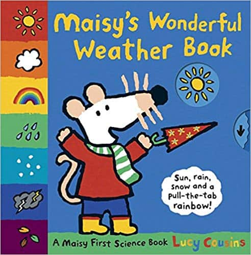 Maisy's Wonderful Weather Book - children's books about the weather