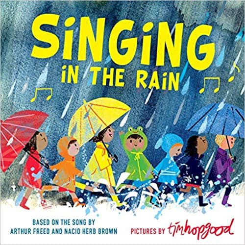 Singing in the Rain - children's books about the weather