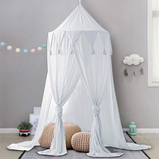 Dix-Rainbow Bed Canopy Lace Mosquito Net