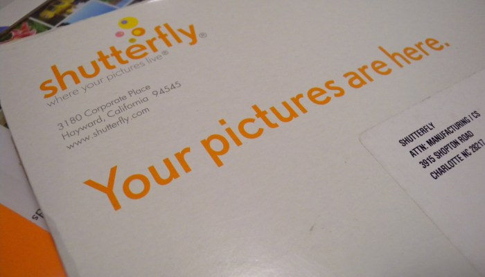 $20 Shutterfly Flash Giveaway!