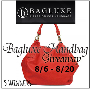 Bagluxe Handbag Giveaway