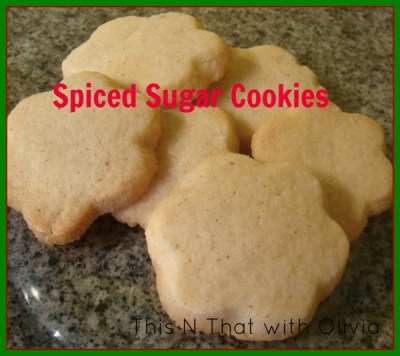 Spiced Sugar Cookies (12 Days Of Desserts)