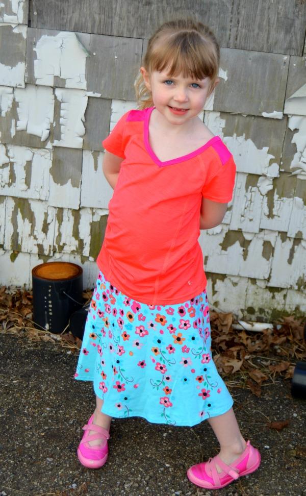 LMM Flowered Skirt